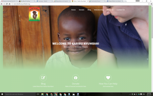 New Website, How Exciting!