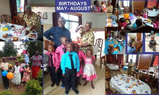 """OUR FIRST """"GATHERED""""BIRTHDAY PARTY"""