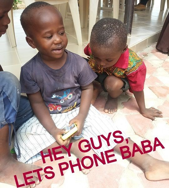 WHEN DID YOU LAST SPEAK TO BABA?