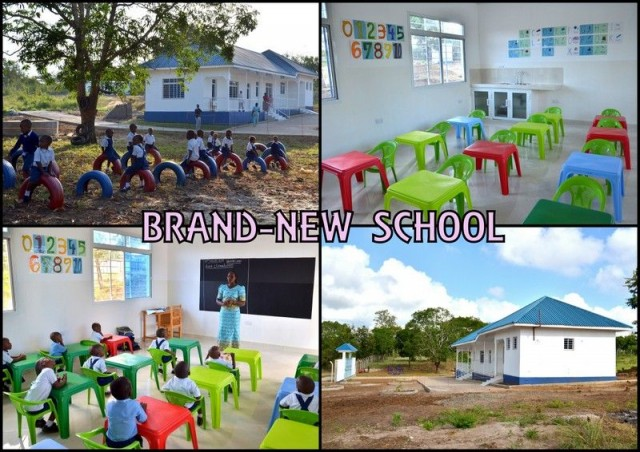 KIDS MOVED TO THEIR BRAND-NEW NURSERY SCHOOL