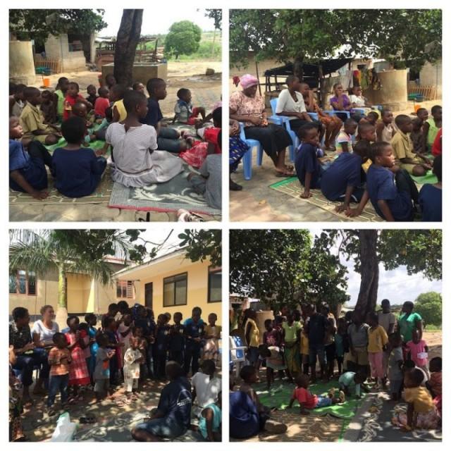 Karibu Nyumbani Visits Bokomo Orphanage